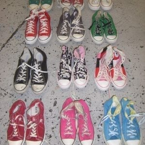 Vintage Converse Trainers