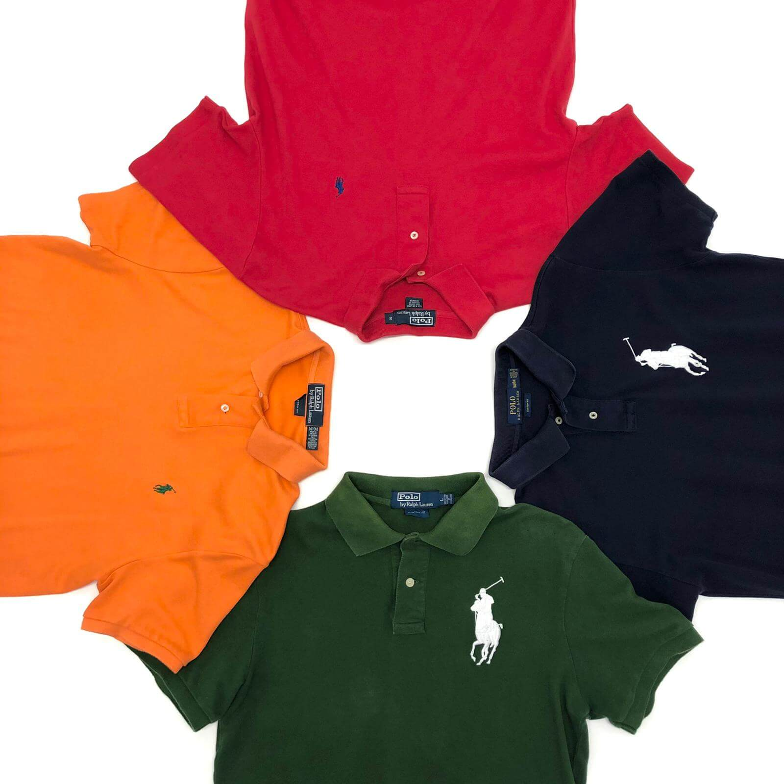 Vintage Branded Polo Shirt Mix