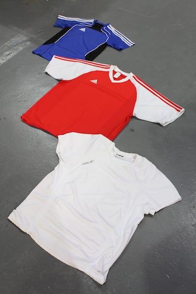 10 x Vintage 90's Sports T-shirts