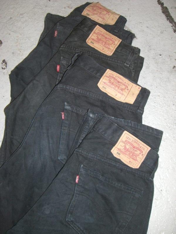 Levi 501 Black