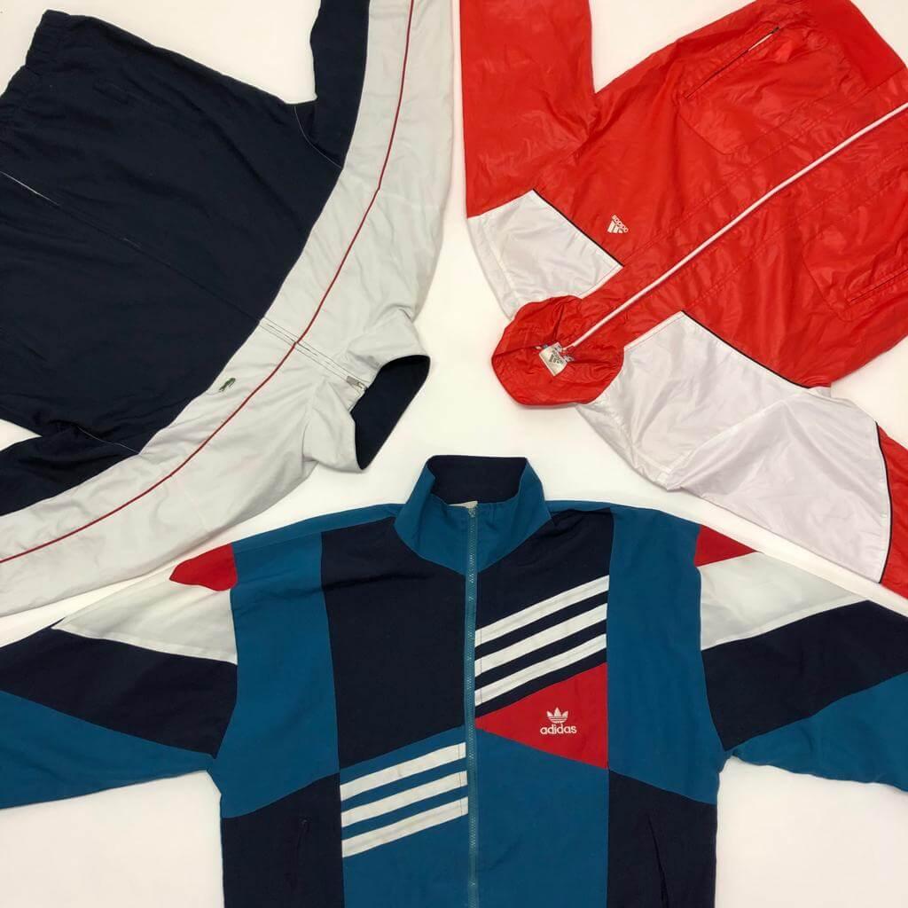 Vintage 90's Adidas Puma Nike Track Tops Mix