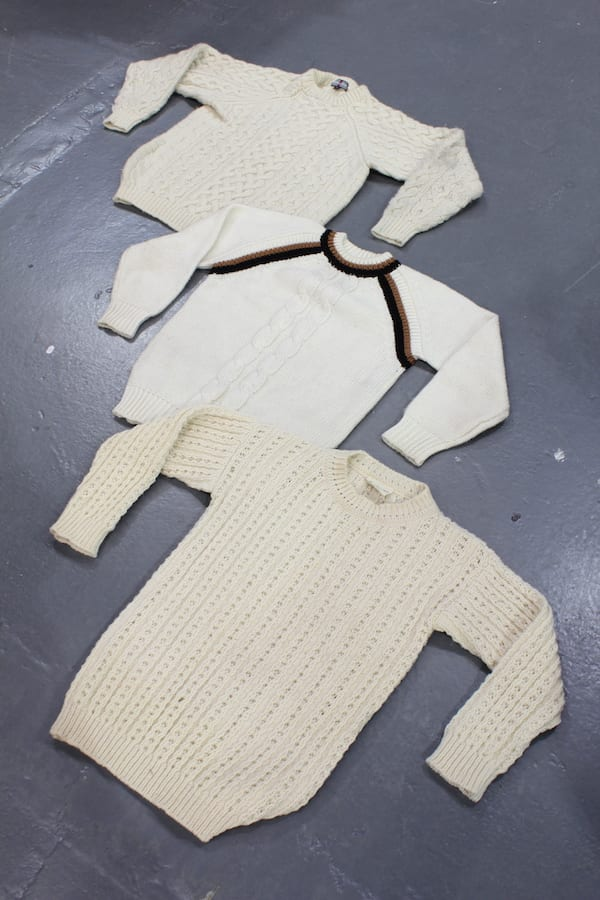 10 x Vintage Cable Knit Sweater