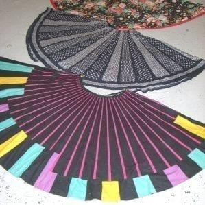 vintage circle skirts