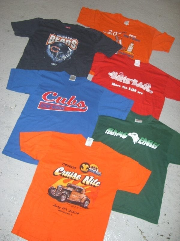 Vintage US-Printed Tshirts