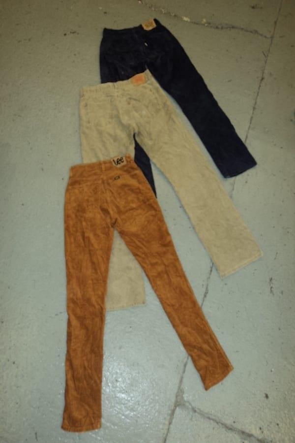Vintage Mens Corduroy Trousers