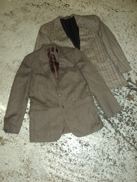 Vintage Tweed Blazers