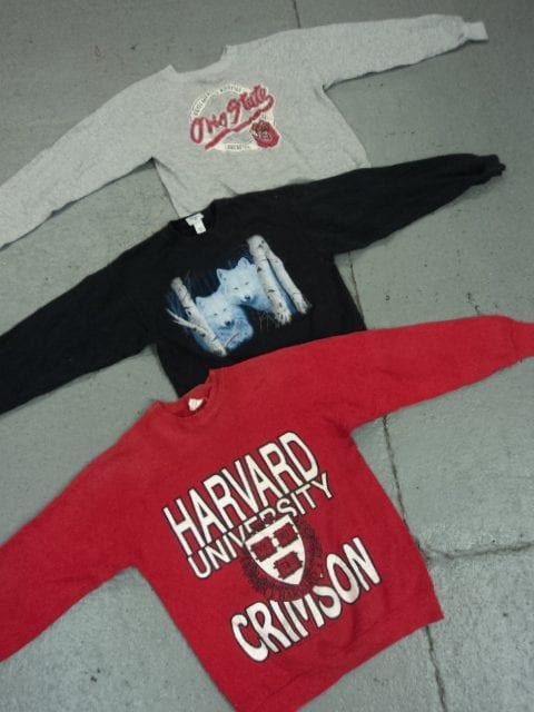 10 x Vintage US Printed Sweaters