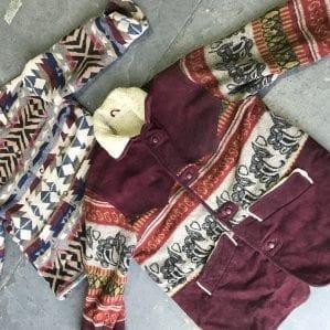 Vintage Aztec Jackets