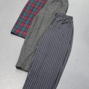 Vintage Japan Pleated Trousers