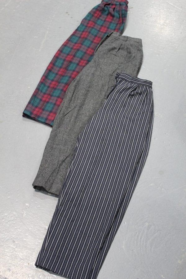Vintage Japan Pleated Trousers