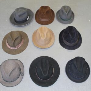 Vintage Trilby Hats