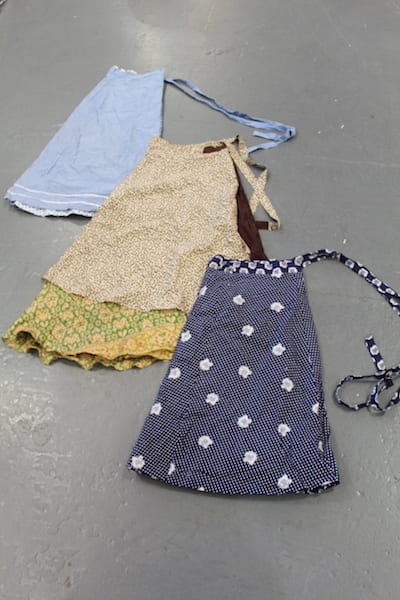 Vintage Wrap Skirts