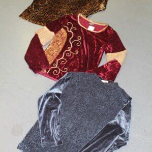 Vintage Velour Tops