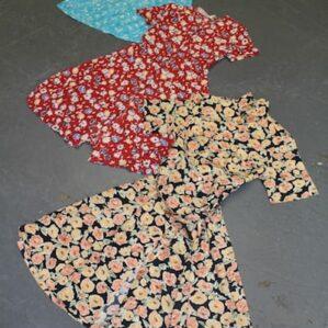 1990s Floral Dresses