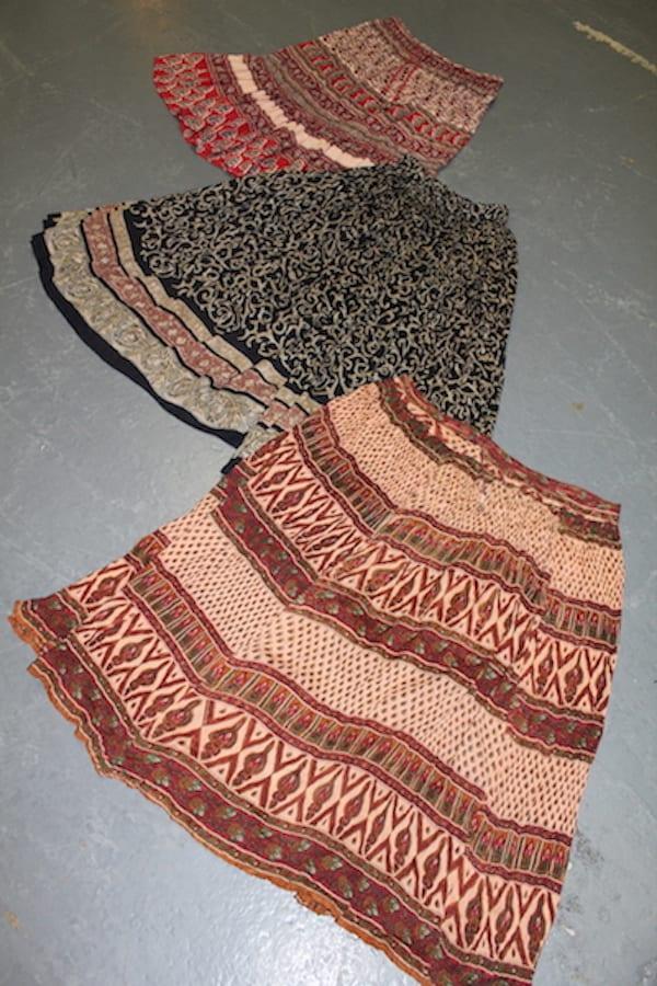Vintage India Skirts