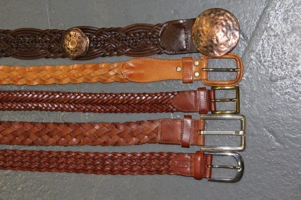 Vintage Woven Belts