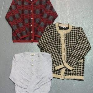 Vintage Ladies Cardigans