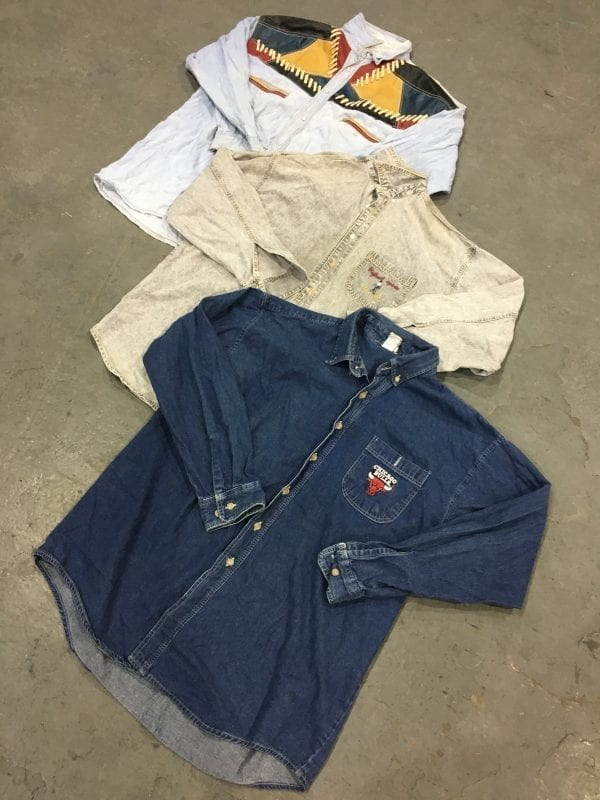Unbranded Denim Shirts