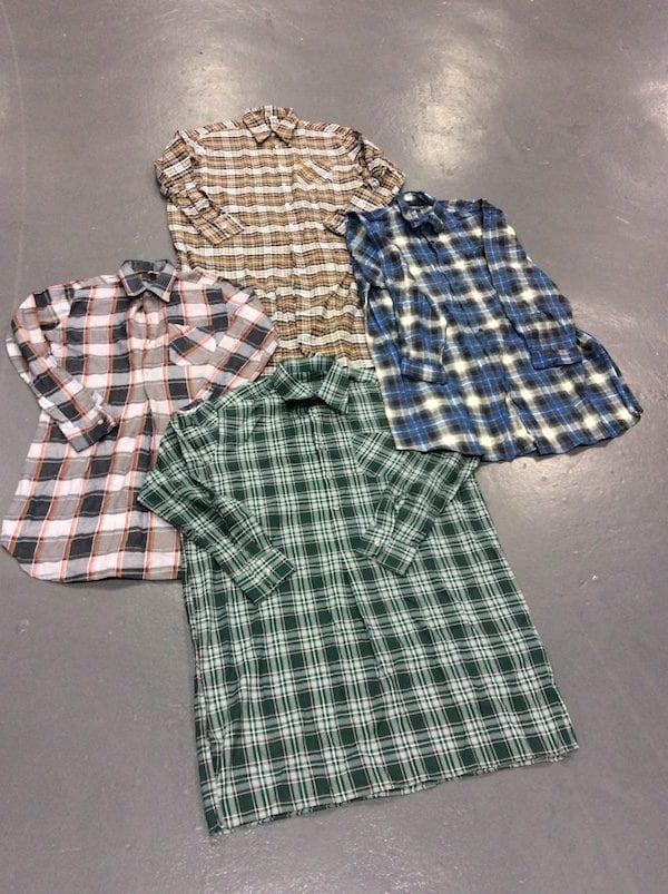 Vintage Lumberjack Flannel Shirts