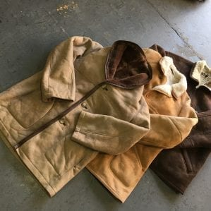 Vintage Ladies Sheepskin Coats