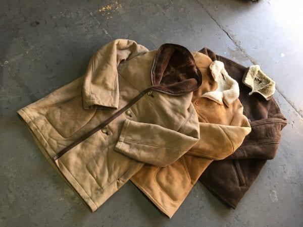 Vintage Ladies Sheepskin Coats
