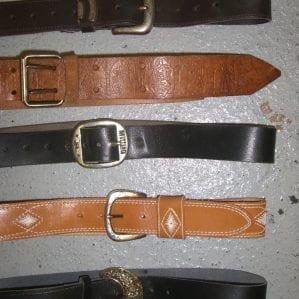 Vintage Western Belts