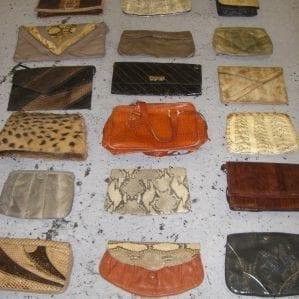 Vintage Skin Bags