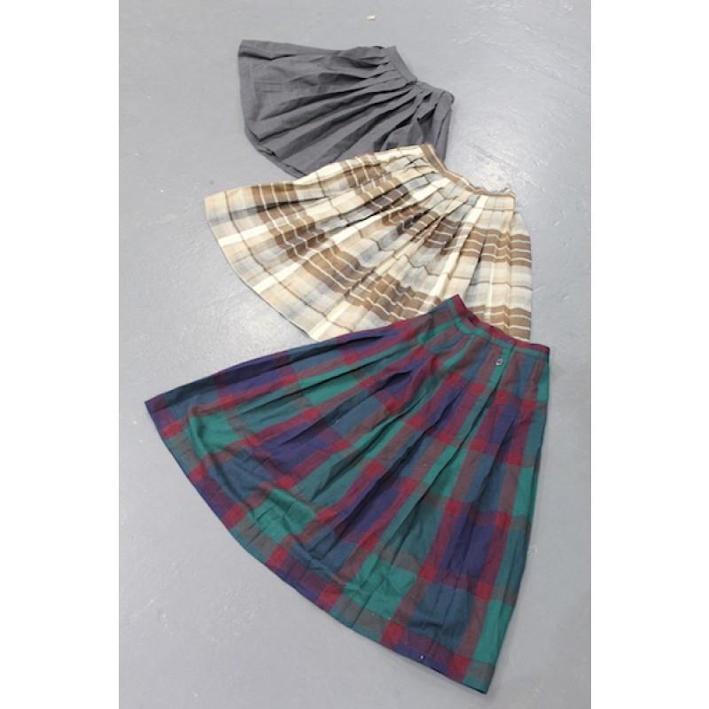 Vintage Japan School Skirts per kilogram
