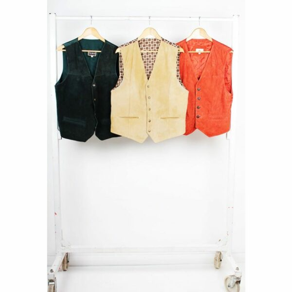 Vintage Leather Waistcoats
