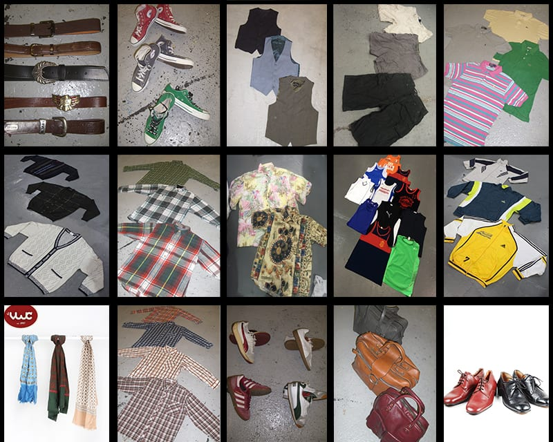 100 KG Menswear Vintage Clothing & Accessories Wholesale Kilo Deal