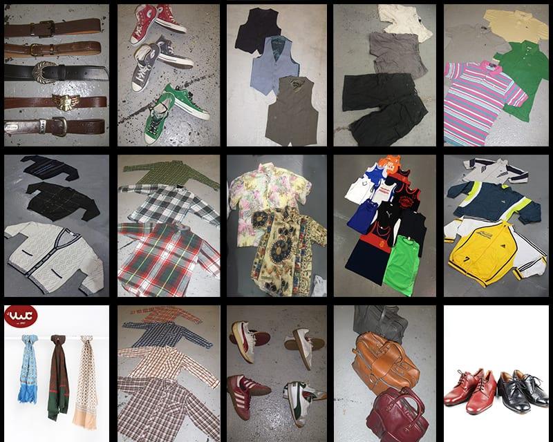 100 KG Menswear Vintage Clothing & Accessories Wholesale Kilo Deal