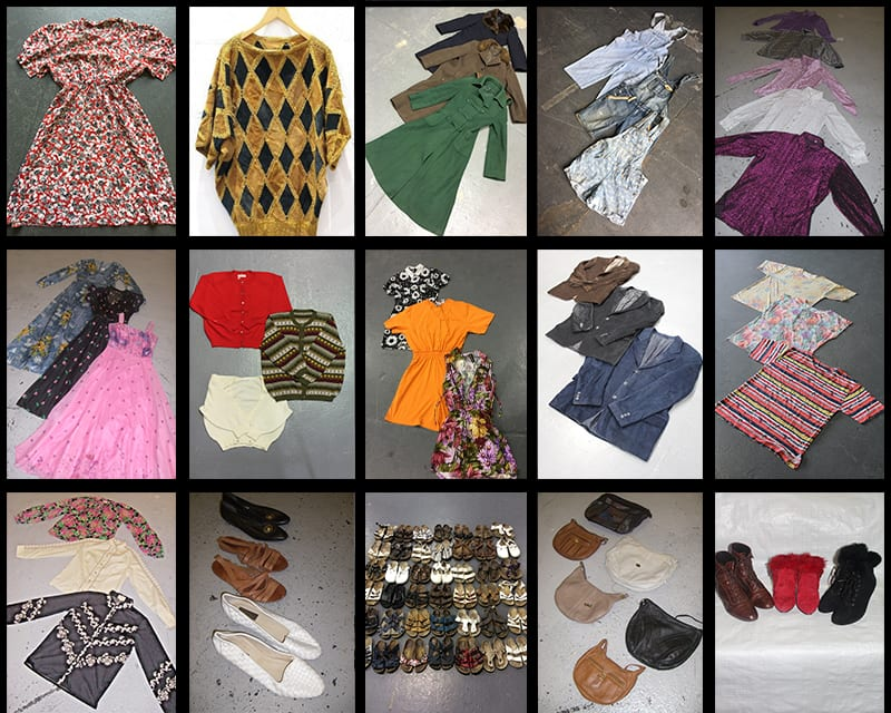 100 KG Womens Vintage Clothing & Accessories Wholesale Kilo Deal