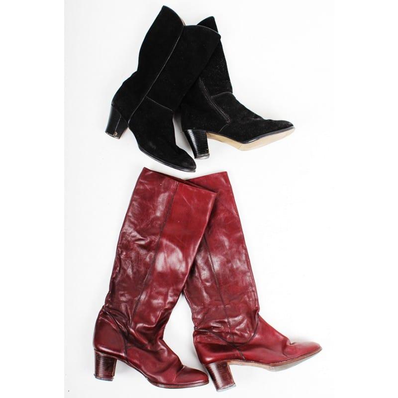 10 x Vintage 1980s Boots