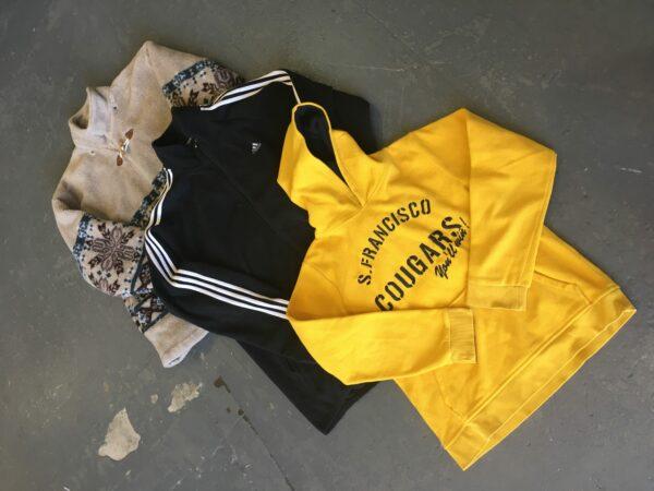 vintage branded clothing, vintage kilogram clothing
