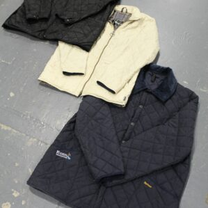 Vintage Quilted Barbour Jackets