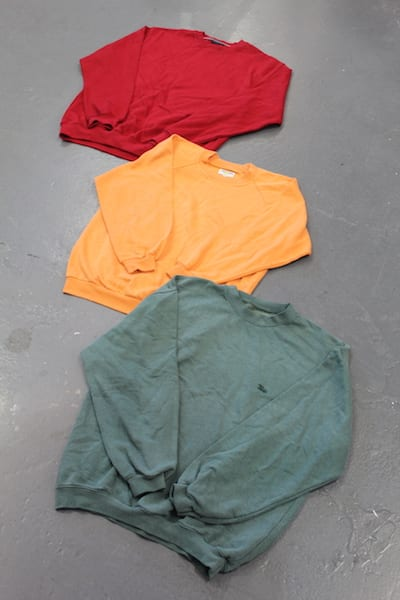 Vintage Plain Sweaters