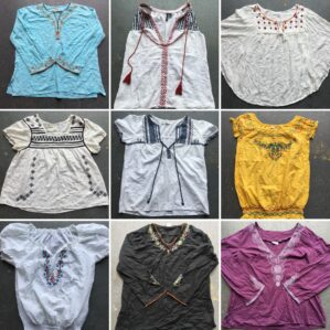 Vintage India Blouses