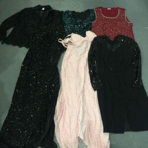 Vintage Glitter Dress