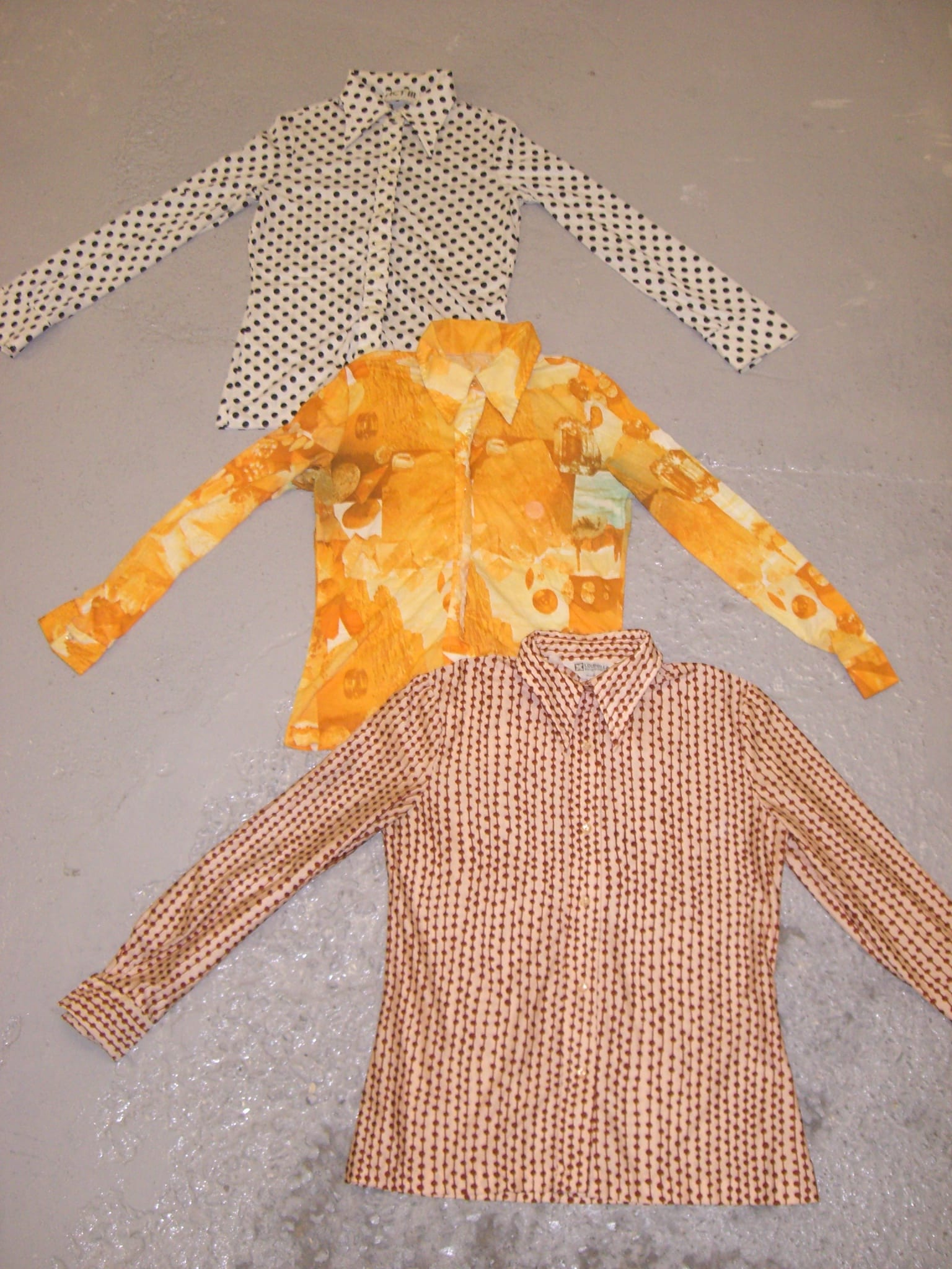 Vintage 1970's Blouses Tops Mix