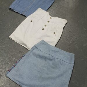 Vintage Denim Skirts