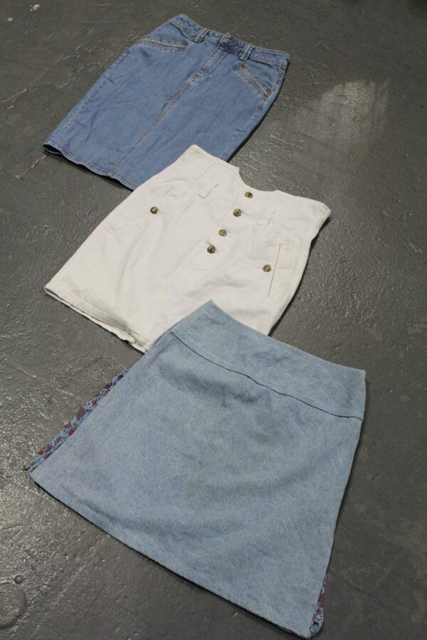 Vintage Denim Skirts