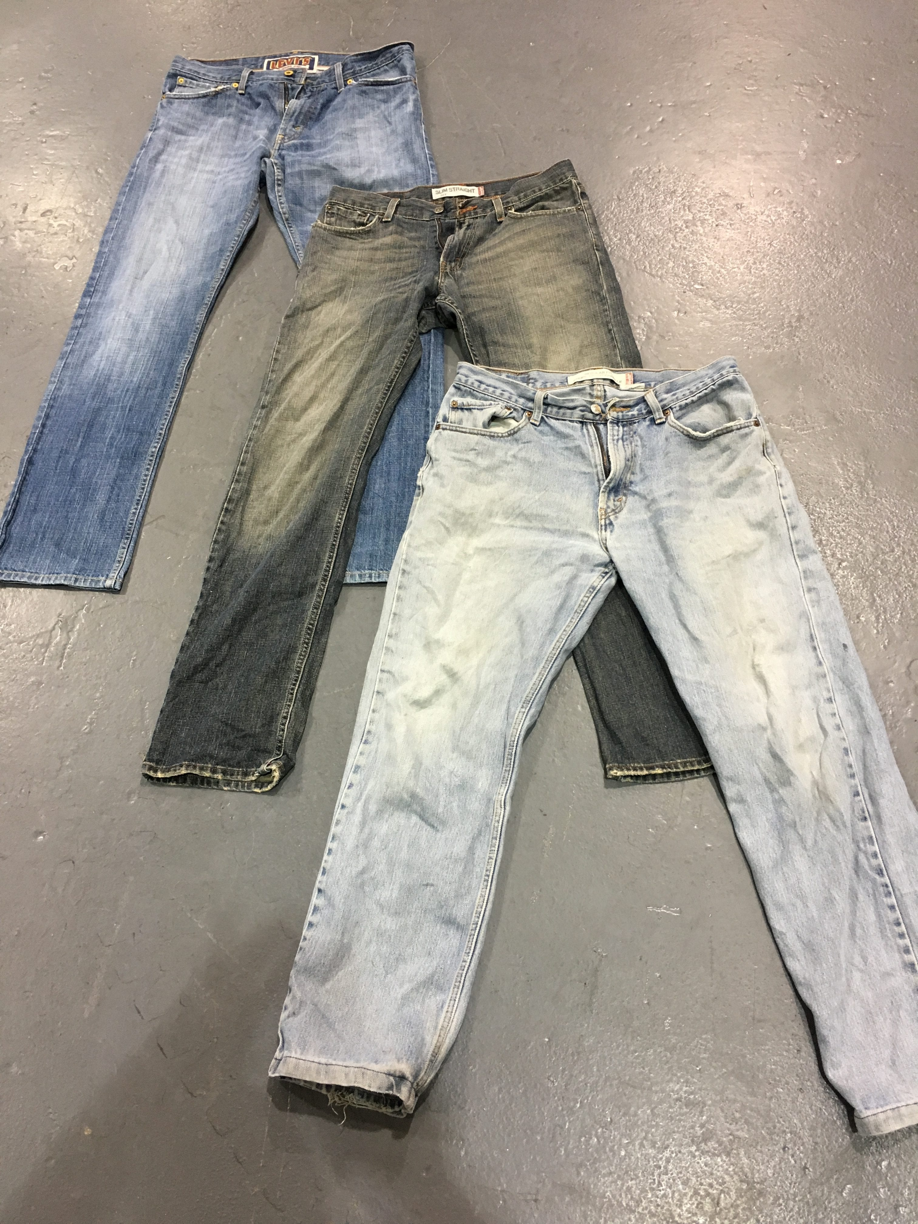 25 x vintage Mixed Series Jeans Grade A/B