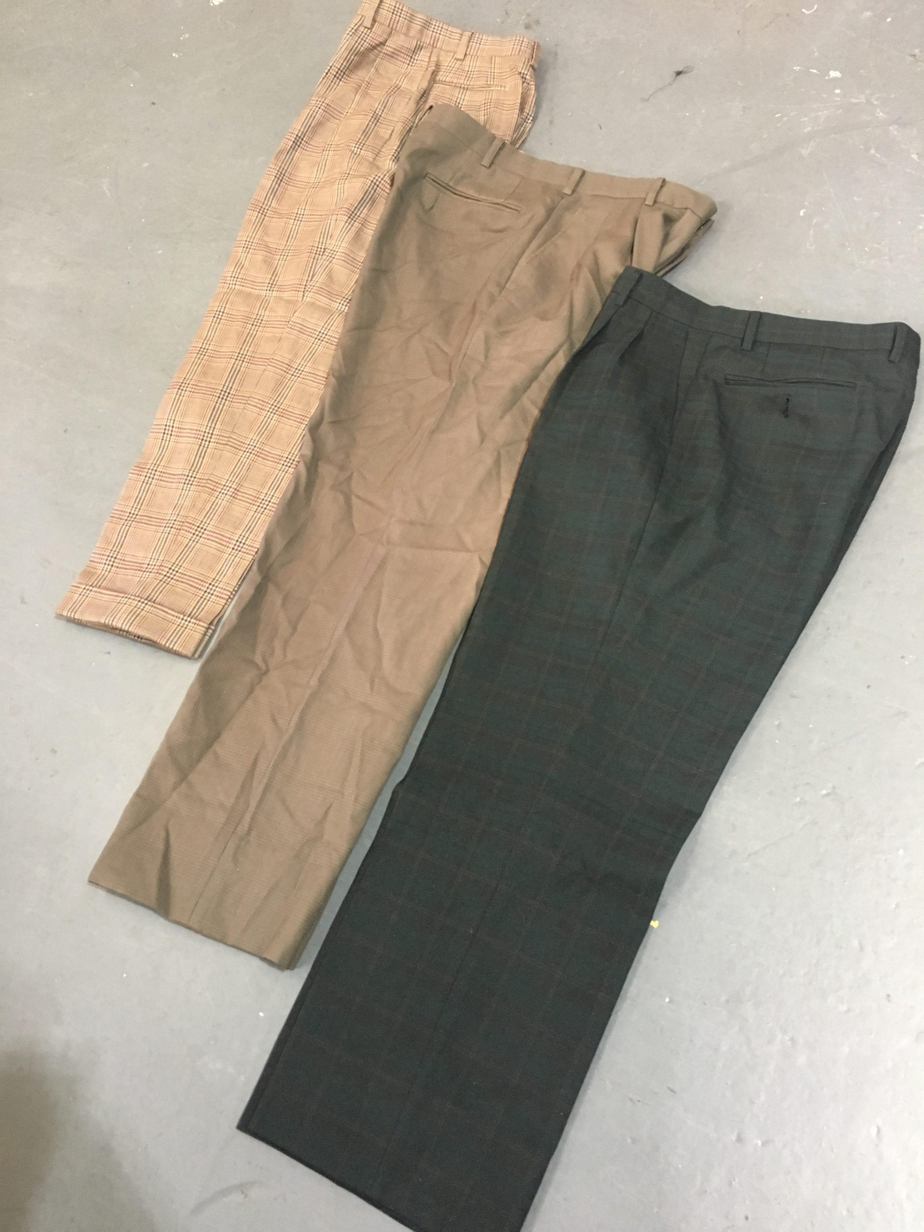 Vintage Ladies Pleated Trousers