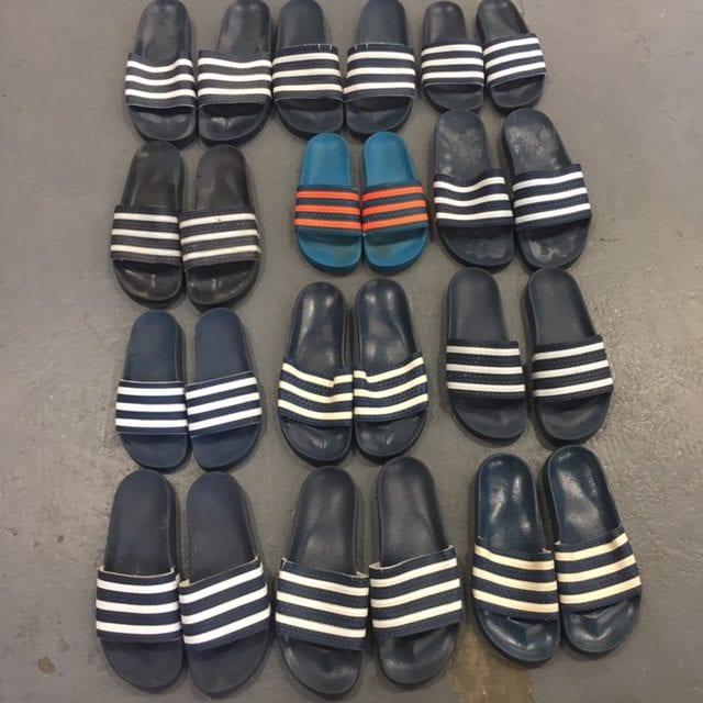 10 x Vintage Adidas Sliders