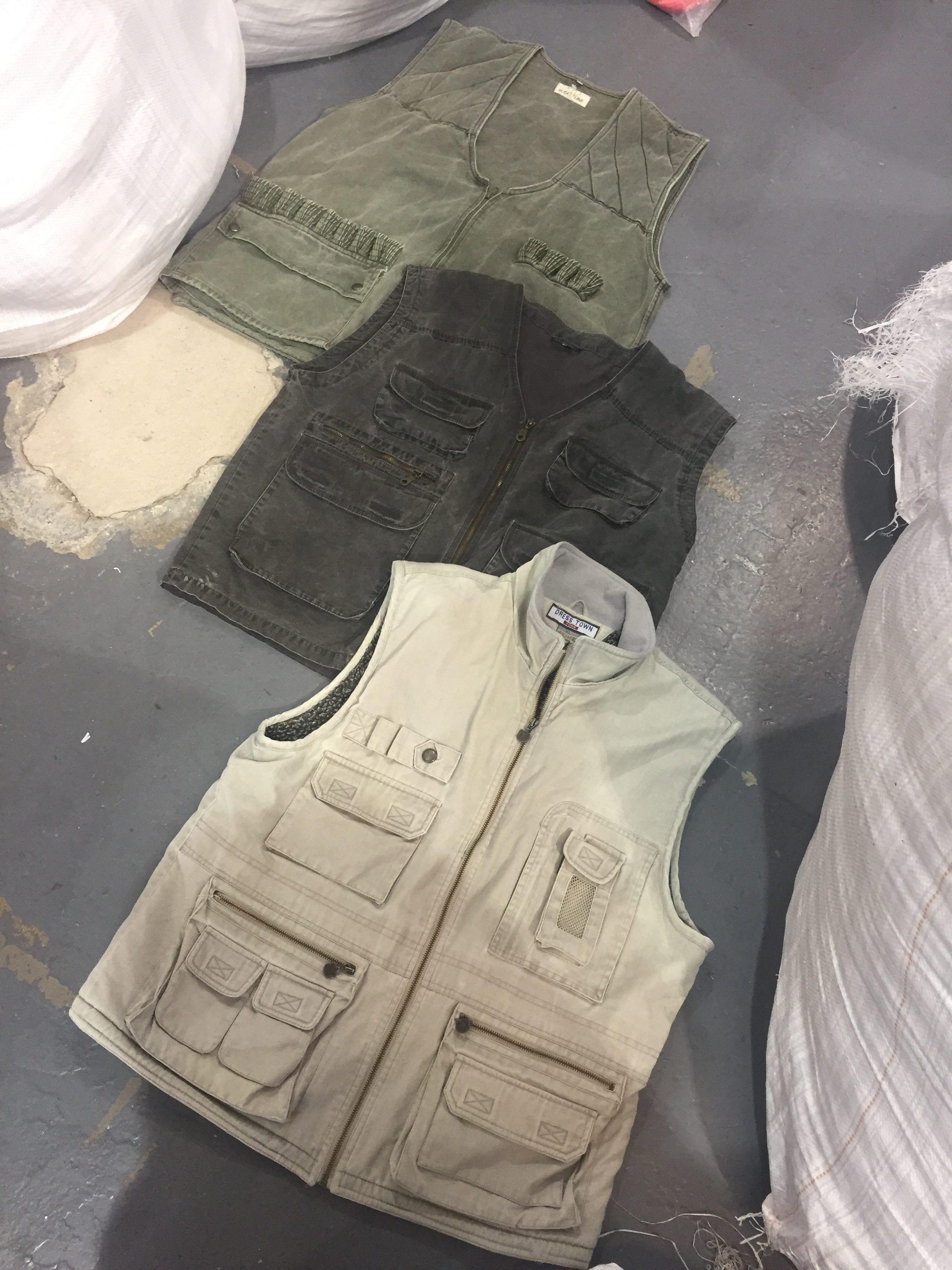 10 x Vintage Utility Vests