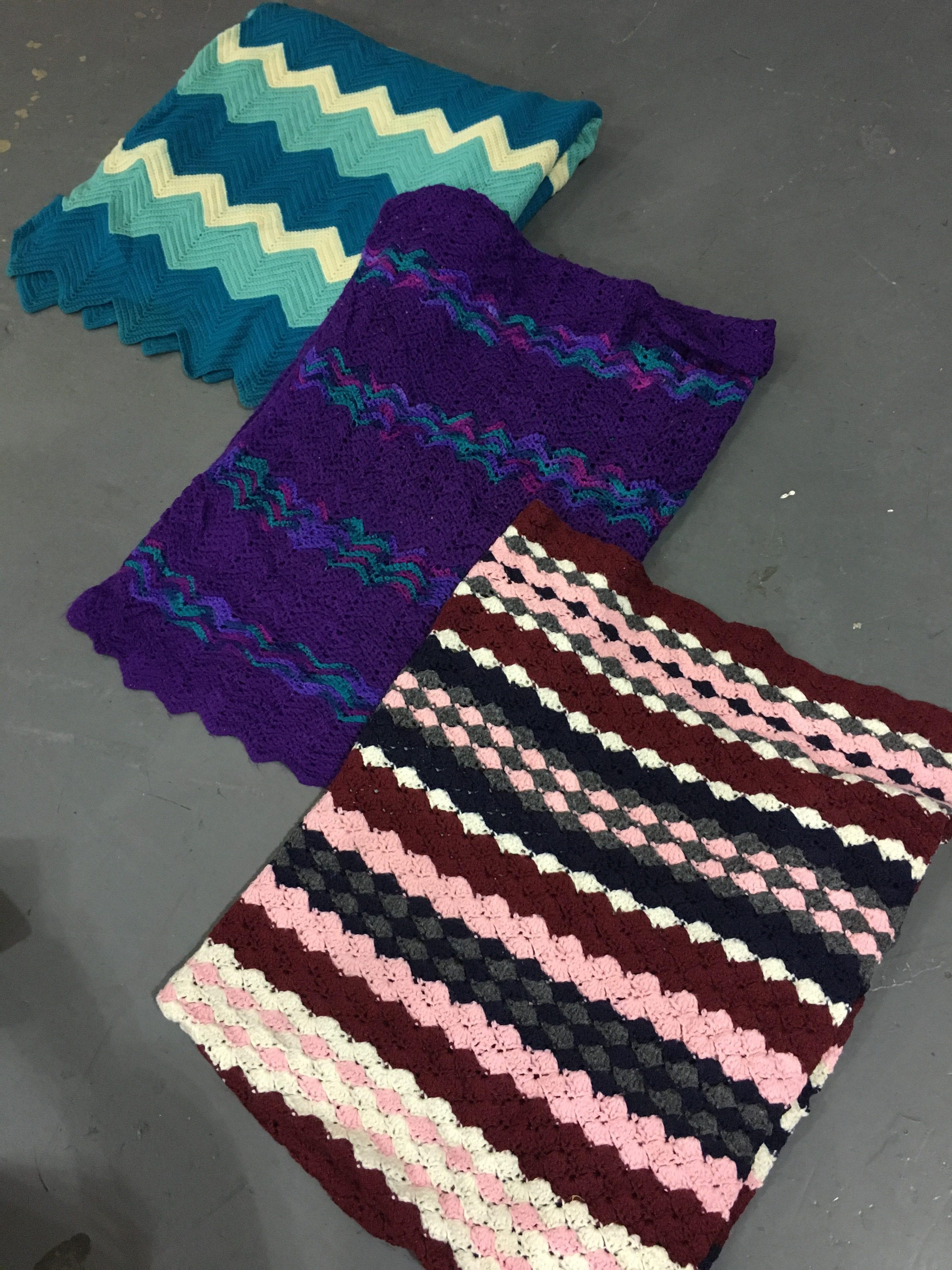 10 x Vintage Blankets