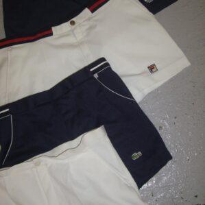 Vintage Branded Tennis Shorts