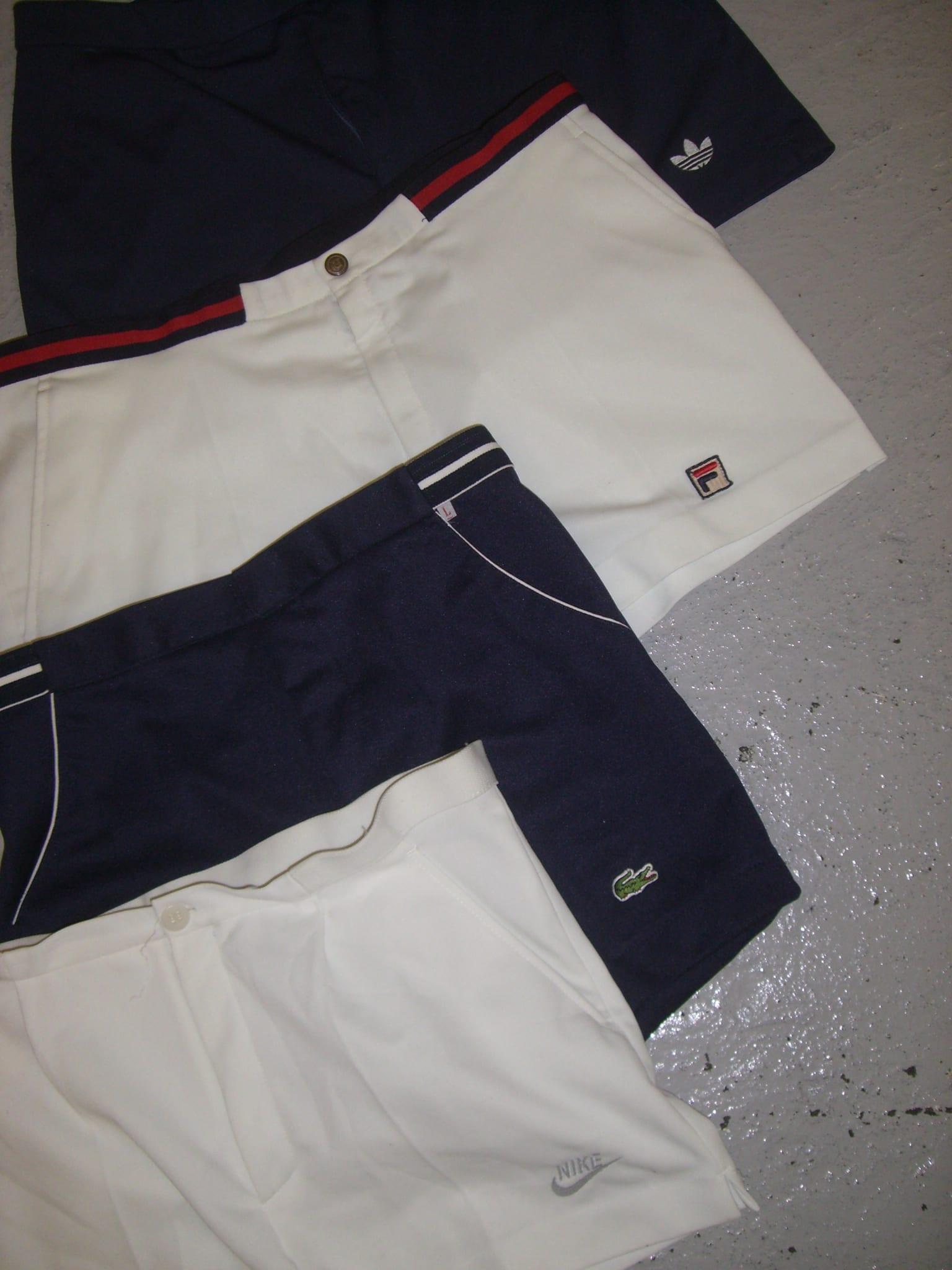 Vintage Tennis Shorts Branded