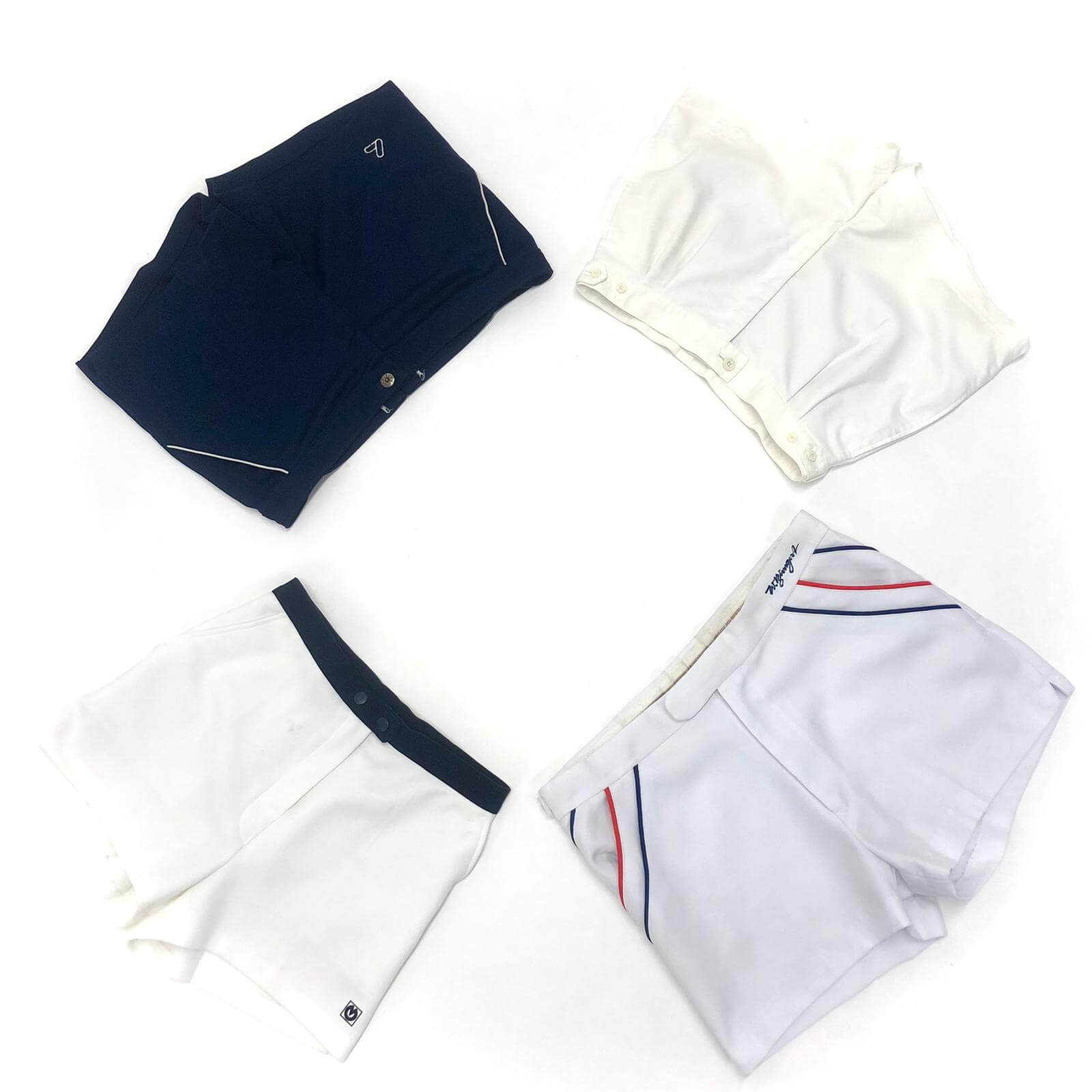 Vintage Tennis Shorts Mix PER KILO