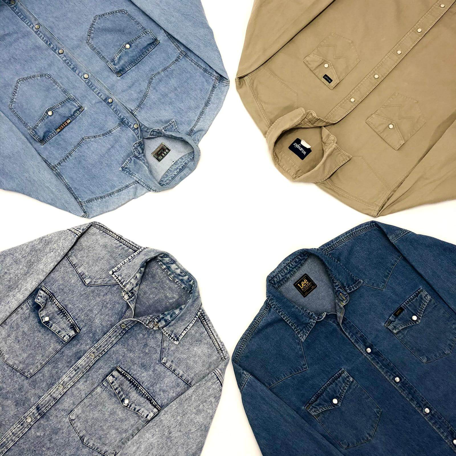 Vintage Denim Shirts